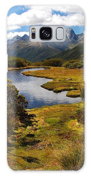 New Zealand Alpine Landscape Galaxy Case