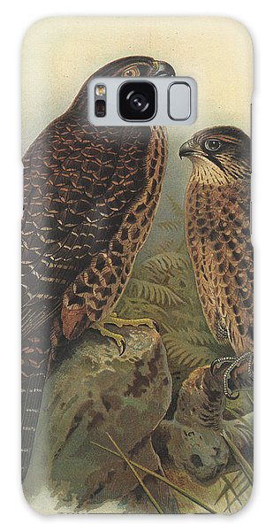 New Zealand Falcon Galaxy Case