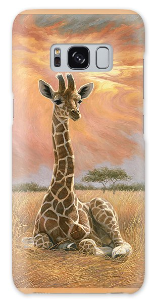 Newborn Giraffe Galaxy Case
