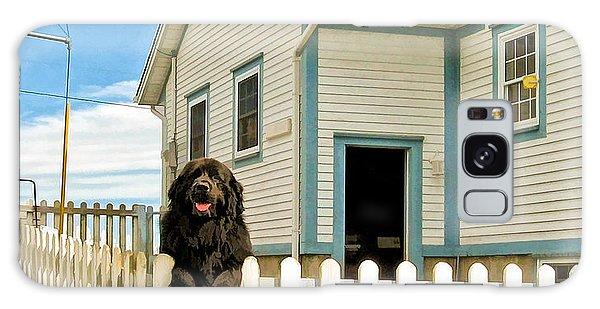 Newfoundland Dog In Newfoundland Galaxy Case