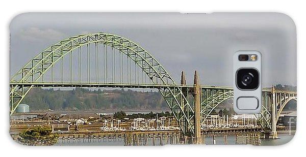 Newport Bay Bridge Galaxy Case by Susan Garren