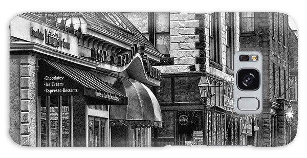 Newport In Monochrome Galaxy Case by Nancy De Flon