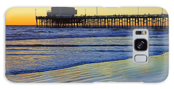 Newport Pier South Side Galaxy Case