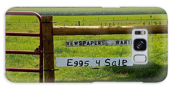 Newspapers Wanted Eggs 4 Sale Galaxy Case