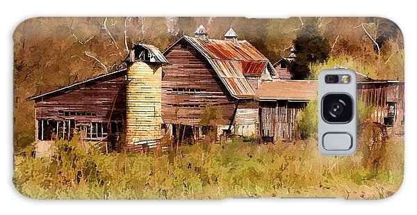 Newton Township Barn Galaxy Case