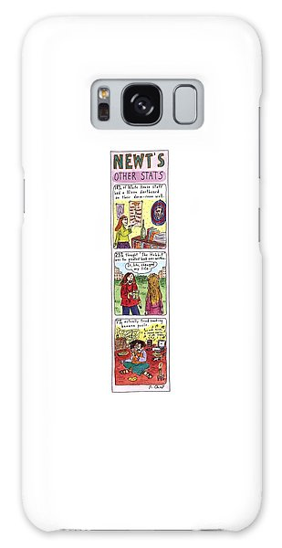Newts Galaxy Case - Newt's Other Stats by Roz Chast