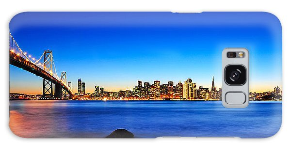 Next To The Bay Bridge And San Francisco Skyline Galaxy Case
