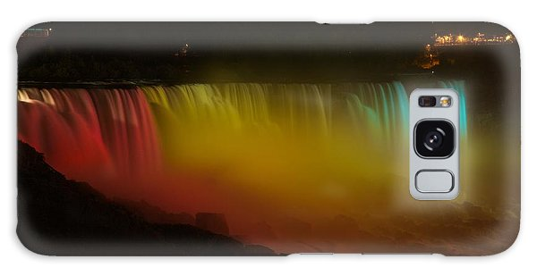 Niagara Falls A Glow Galaxy Case by Dave Files