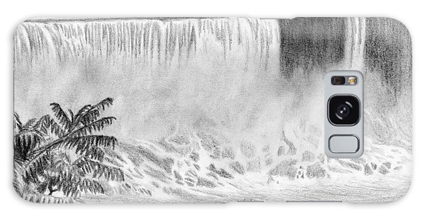 Waterfall Galaxy Case - Niagara Falls And The Maid Of The Mist by Kayleigh Semeniuk