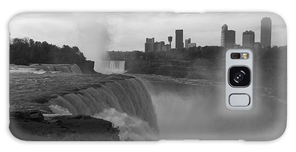 Niagara Falls - Autumn - B N W Galaxy Case