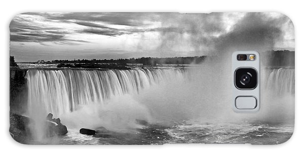 Niagara Falls Black White Galaxy Case