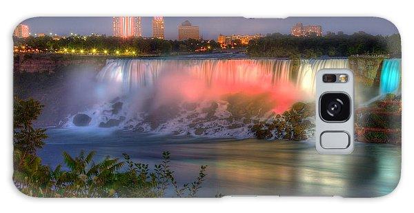 Niagara Falls Canada Sunset  Galaxy Case