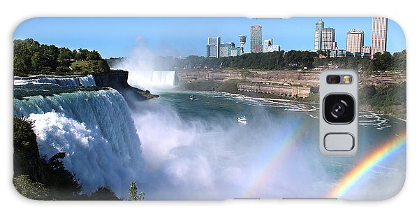 Niagara Falls Double Rainbow Galaxy Case