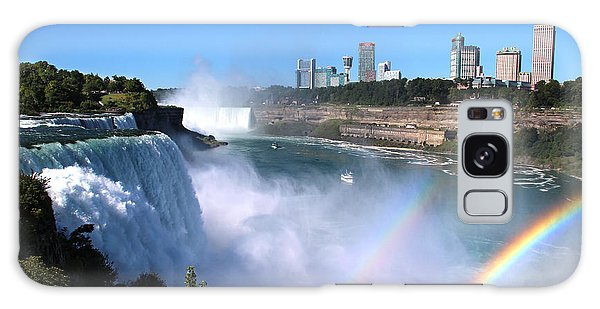 Niagara Falls Double Rainbow Galaxy Case