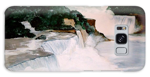 Niagara Falls Galaxy Case by Ellen Canfield