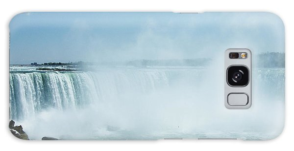 Galaxy Case - Niagara Horseshoe Falls In Spring by Phil Banks
