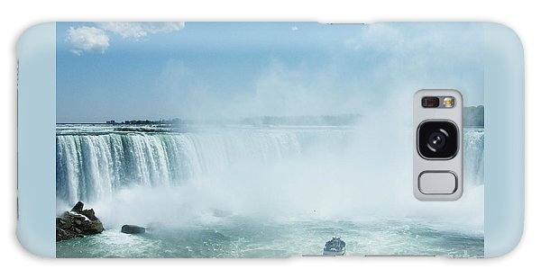 Niagara Falls In Spring Galaxy Case by Phil Banks