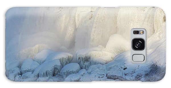 Galaxy Case - Niagara Falls In Winter by Phil Banks
