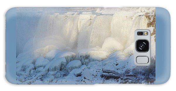 Niagara Falls In Winter Galaxy Case