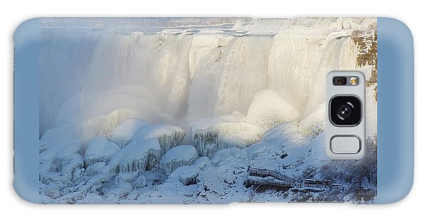 Niagara Falls In Winter Galaxy Case