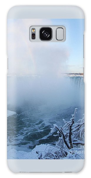 Niagara Falls -  Minus 20 C Galaxy Case by Phil Banks