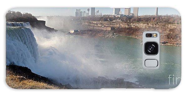 Niagara Falls Panorama Galaxy Case