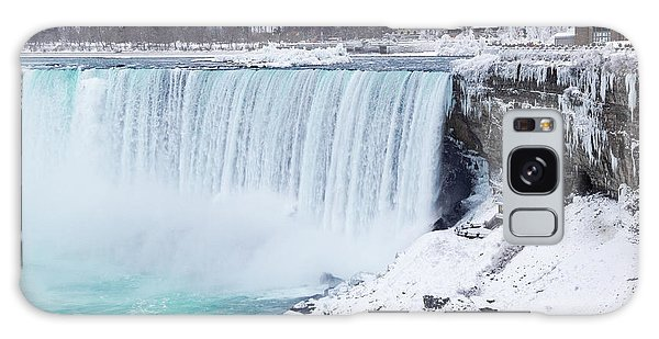 Niagara Falls Winter Galaxy Case