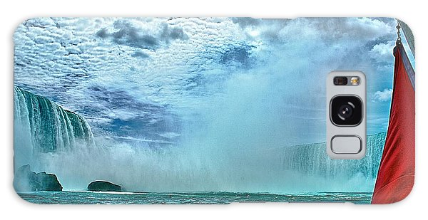 Niagara In The Mist Galaxy Case by Andre Faubert