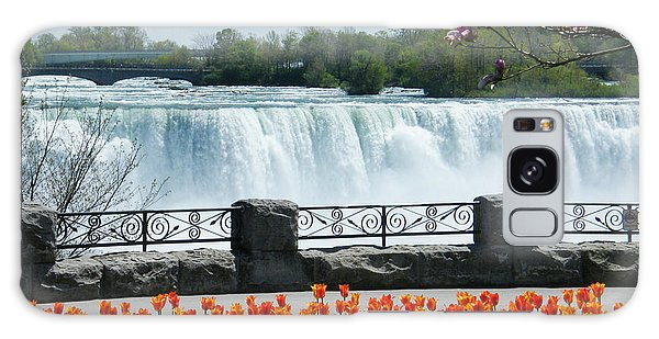 Niagara - Springtime Tulips Galaxy Case by Phil Banks