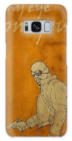 The Avengers Galaxy Case - Nick Fury - The Avengers by Drawspots Illustrations