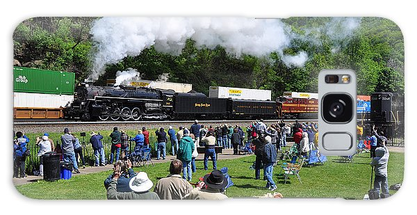 Galaxy Case featuring the photograph Nickel Plate Berkshire At Horseshoe Curve by Matthew Chapman