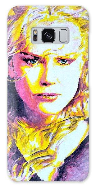 Nicole Kidman Galaxy Case by Victor Minca
