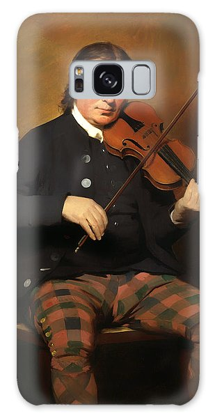 Violin Galaxy Case - Niel Gow - Violinist And Composer by Mountain Dreams