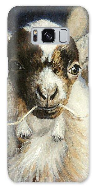 Nigerian Dwarf Goat With Straw Galaxy Case