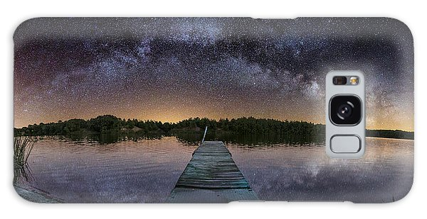 Night At The Lake  Galaxy Case by Aaron J Groen