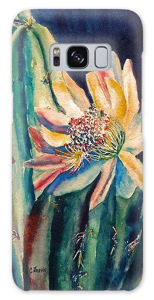Night Blooming Cactus Galaxy Case