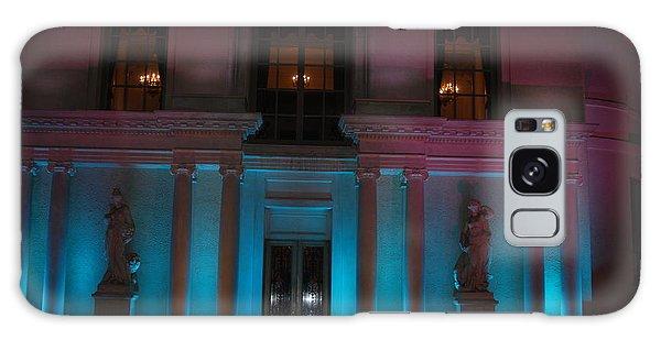 Night Blue Galaxy Case by George Mount