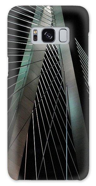 Night Bridge 1 Galaxy Case by Randall Weidner