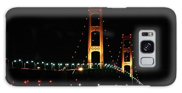 Night Bridge Galaxy Case by Bill Woodstock