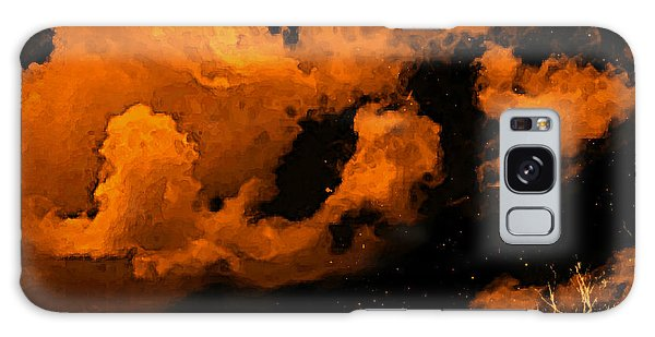 Night Clouds Galaxy Case by Persephone Artworks