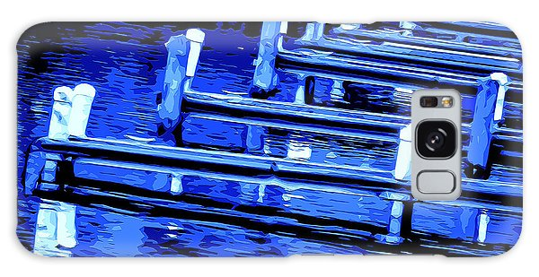 Night Docks Galaxy Case by Brian Stevens
