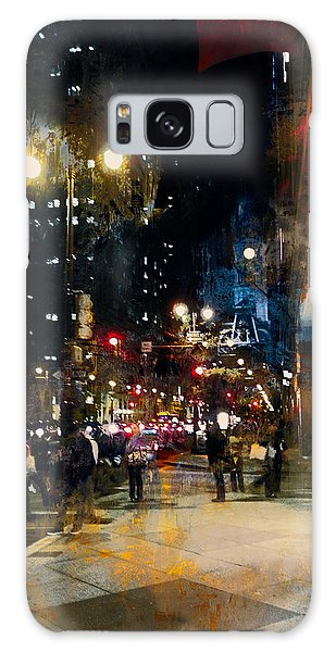 Night In The City Galaxy Case