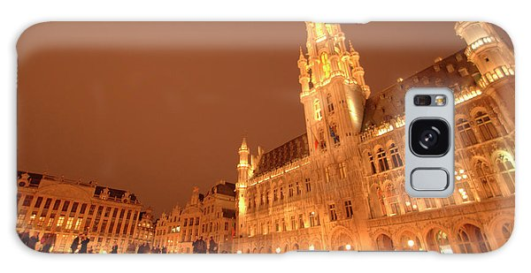 Night In The Grand Place Galaxy Case