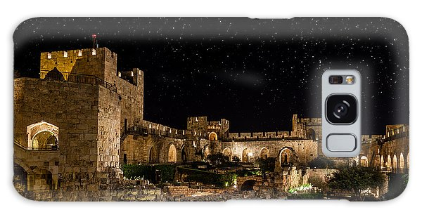 Night In The Old City Galaxy Case