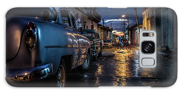 Old Road Galaxy Case - Night In Trinidad by Marco Tagliarino