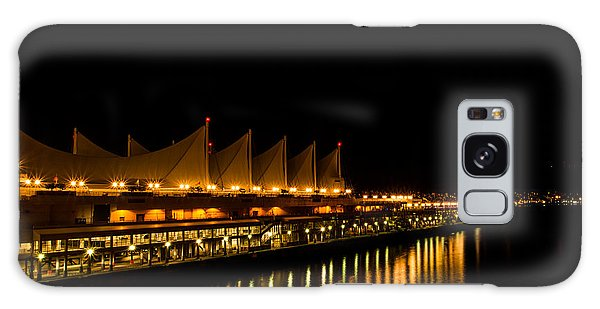 Night Lights On The Waterfront Galaxy Case