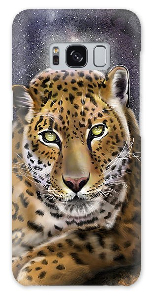 Fourth Of The Big Cat Series - Leopard Galaxy Case