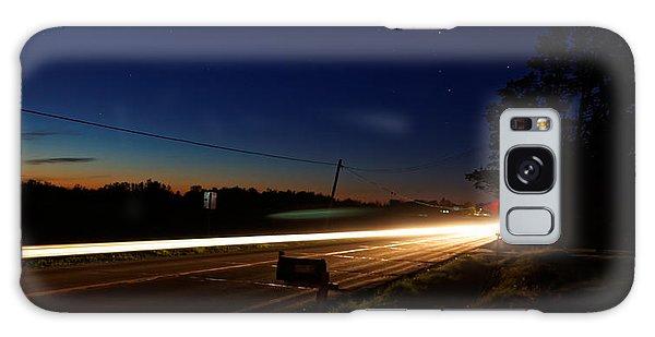 Night Passing Galaxy Case