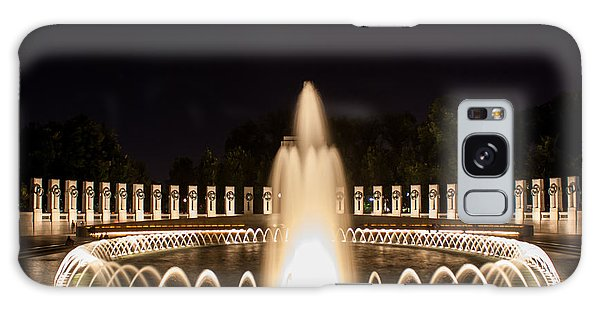Night Reflections Wwii Memorial  Galaxy Case