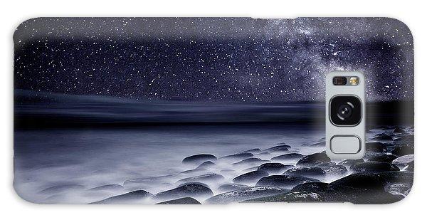 Night Shadows Galaxy Case